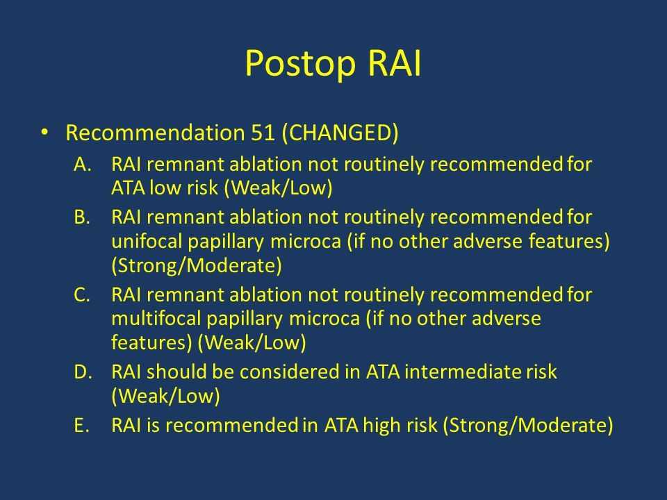 Postop RAI Recommendation 51 (CHANGED)