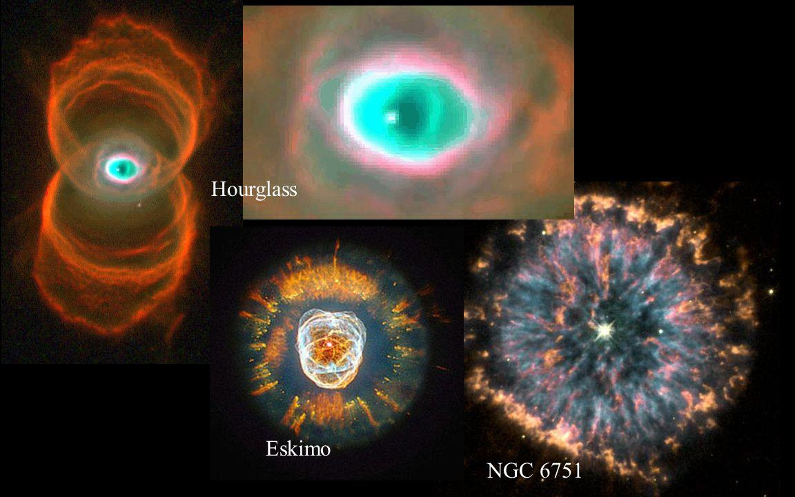 Hourglass Eskimo NGC 6751