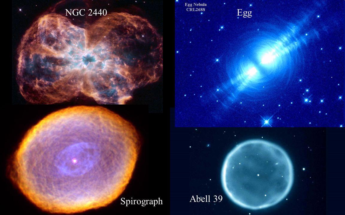 NGC 2440 Egg Abell 39 Spirograph