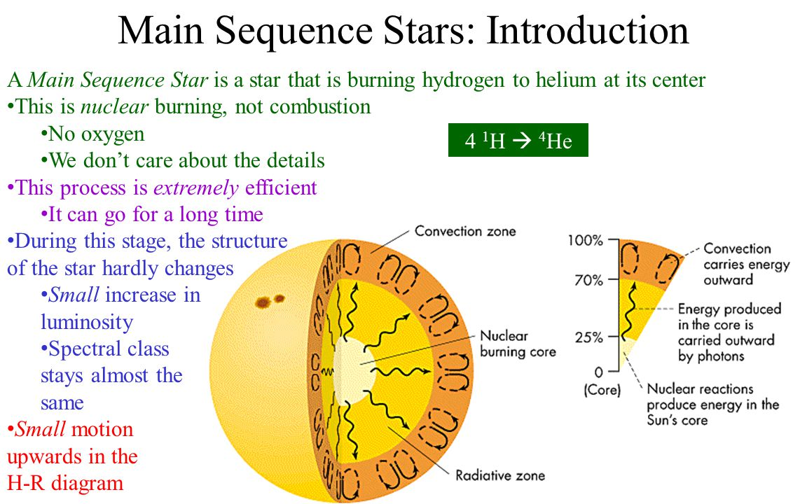 Main Sequence Stars: Introduction