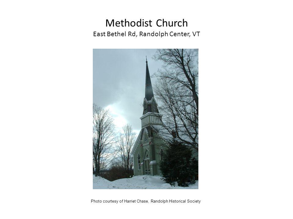 Methodist Church East Bethel Rd, Randolph Center, VT