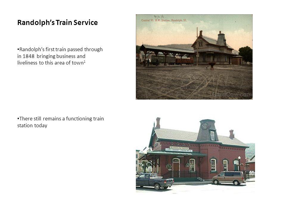 Randolph's Train Service