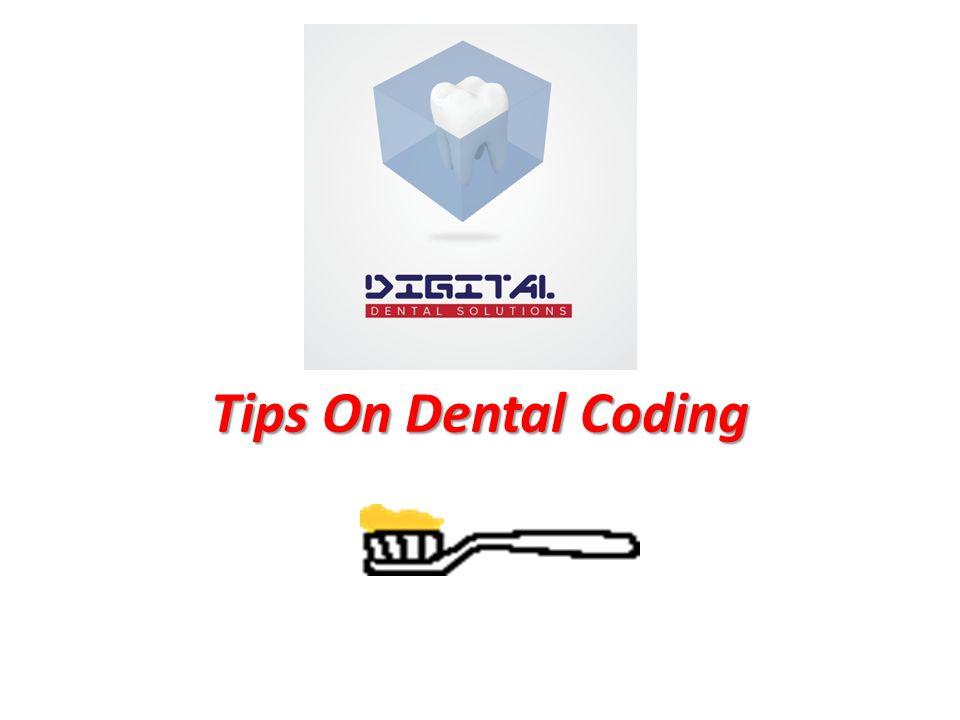 Tips On Dental Coding