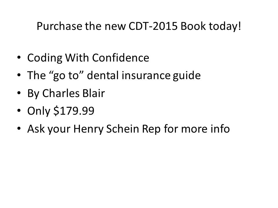 Purchase the new CDT-2015 Book today!