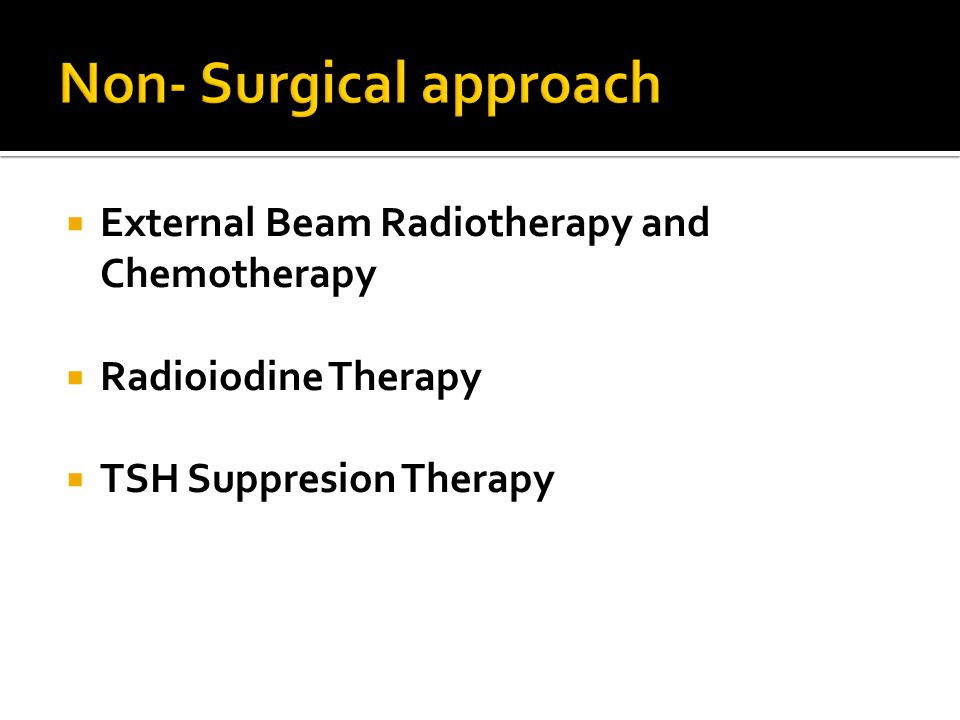 Non- Surgical approach