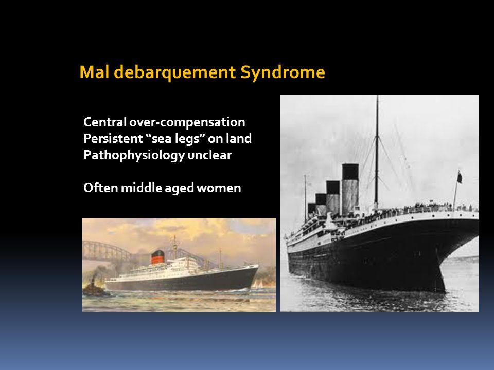 Mal debarquement Syndrome