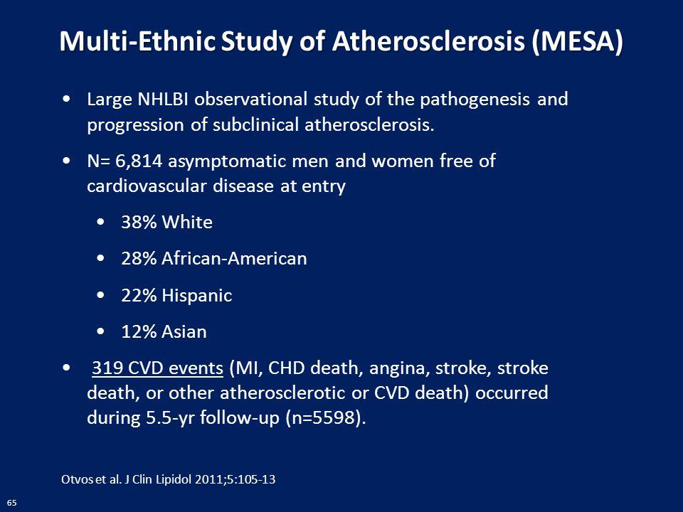 Multi-Ethnic Study of Atherosclerosis (MESA)