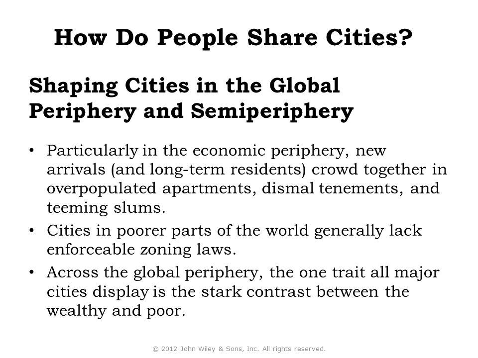 Shaping Cities in the Global Periphery and Semiperiphery