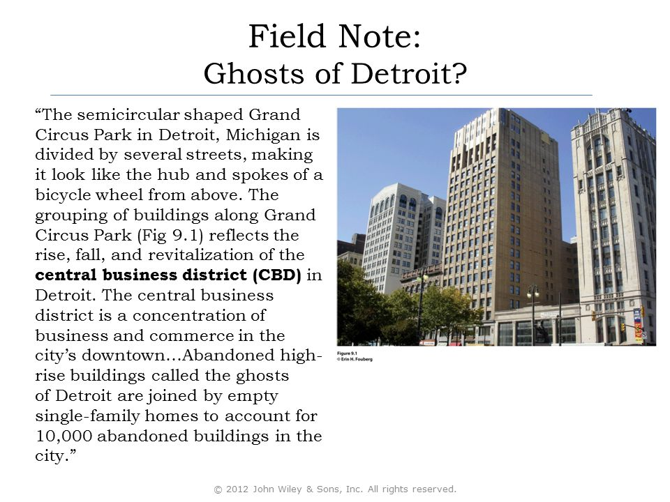 Field Note: Ghosts of Detroit