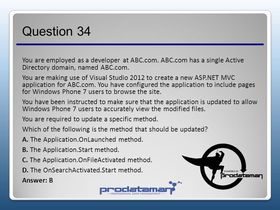 Question 34