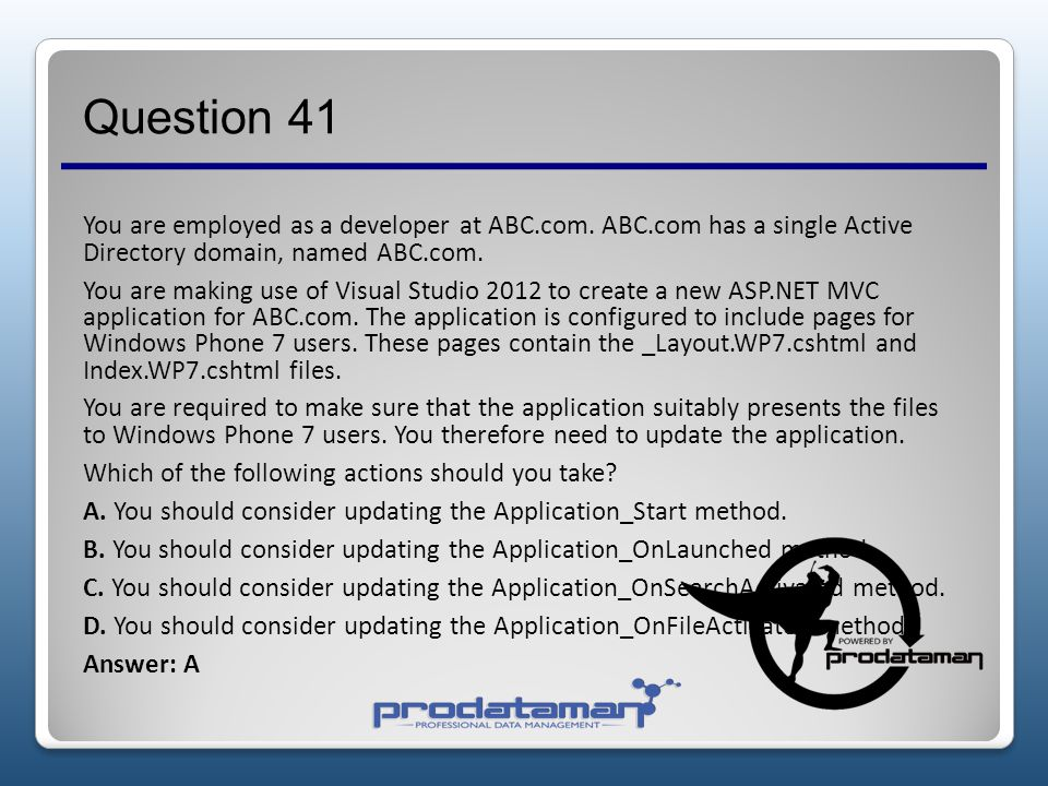 Question 41