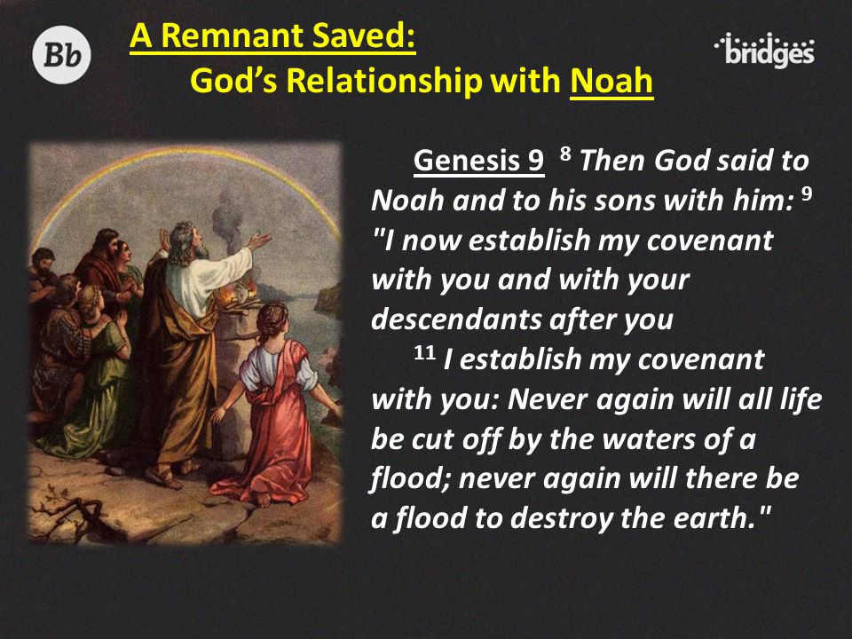 God's Relationship with Noah