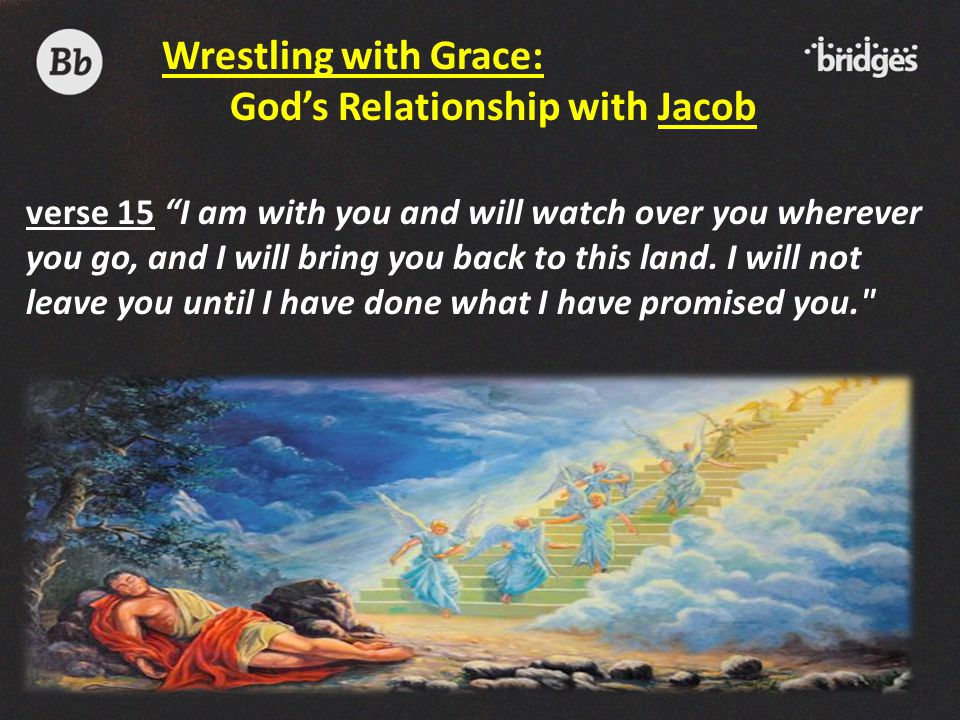 God's Relationship with Jacob