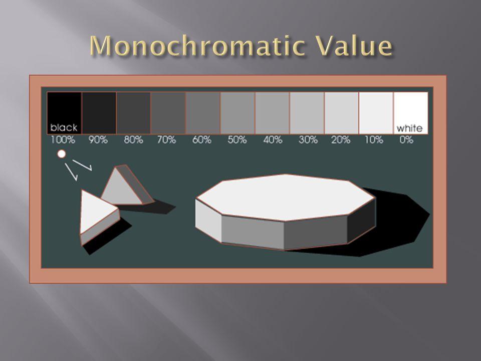 Monochromatic Value