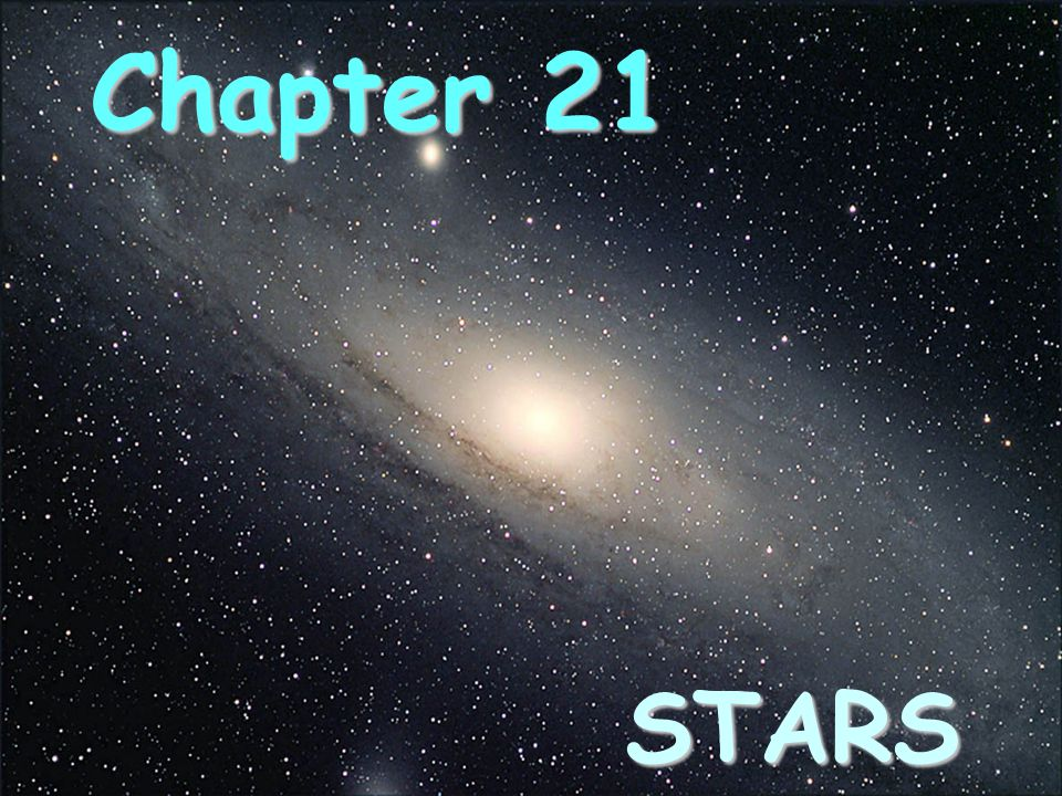 Chapter 21 STARS