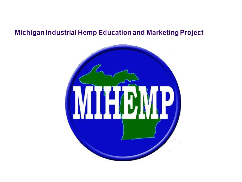 Michigan Industrial Hemp Education and Marketing Project