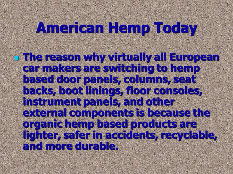 American Hemp Today
