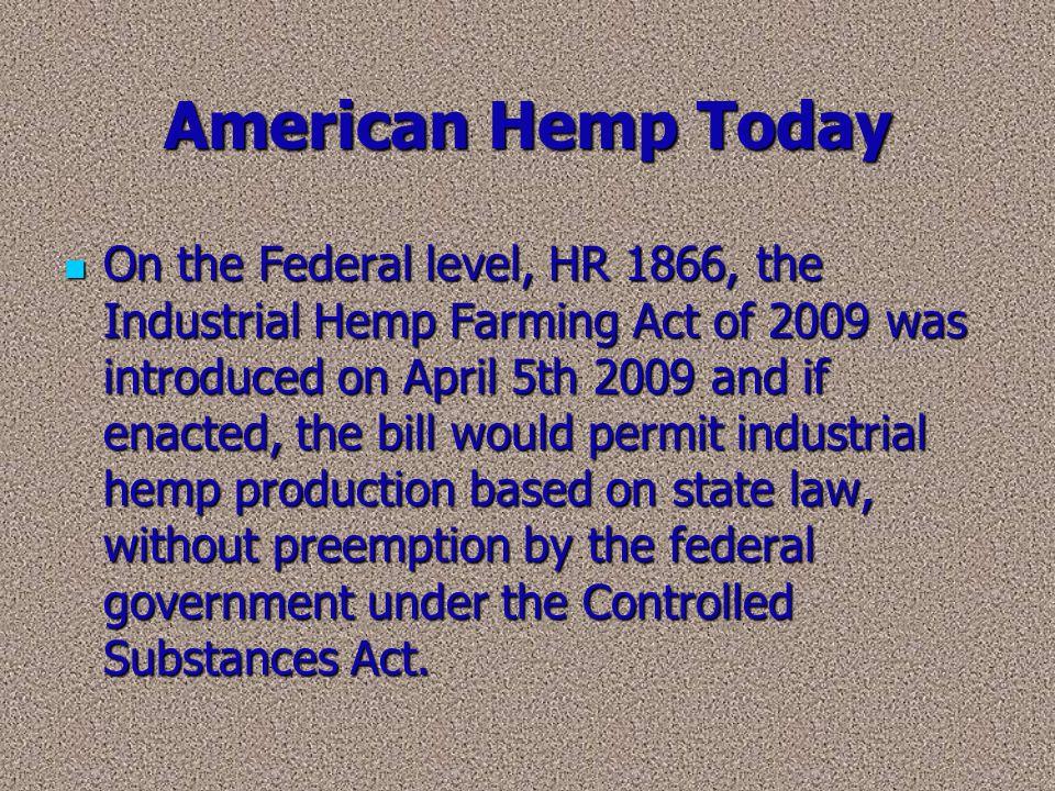 American Hemp Today