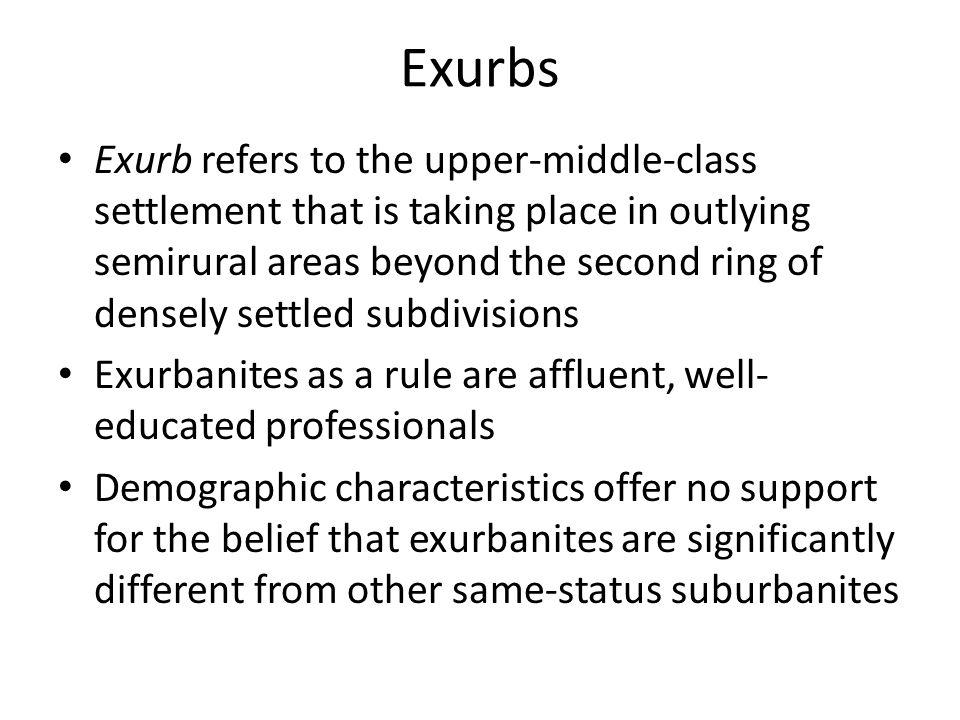 Exurbs