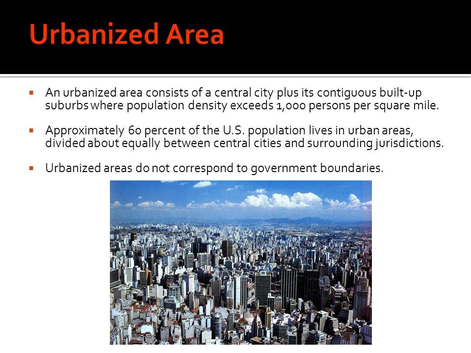 Urbanized Area