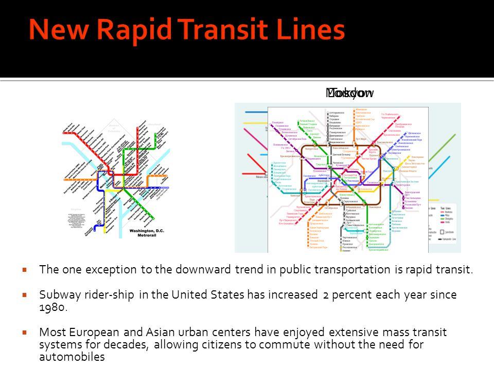 New Rapid Transit Lines