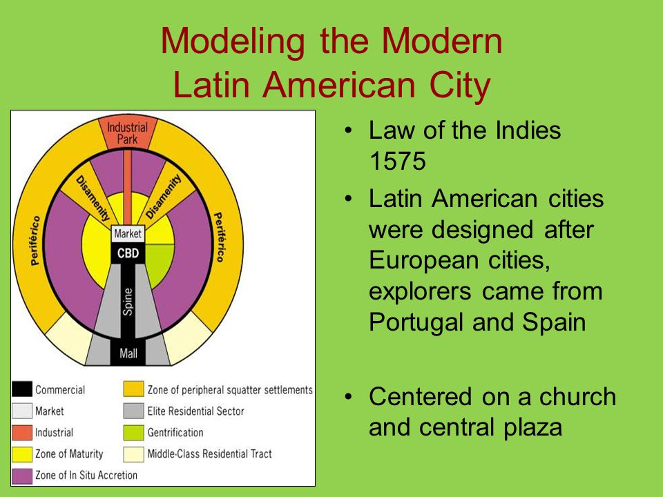 Modeling the Modern Latin American City