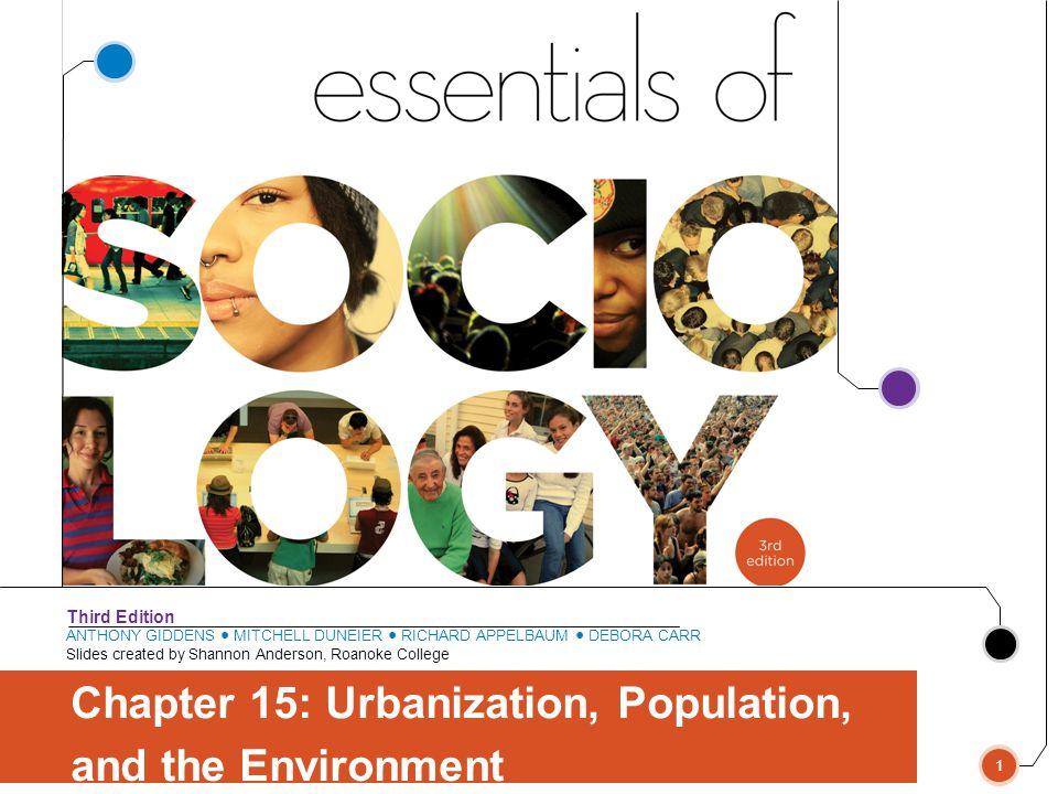 Chapter 15: Urbanization, Population,
