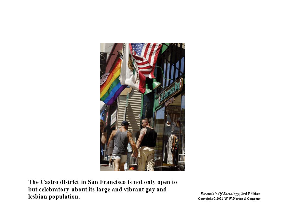 The Castro district in San Francisco is not only open to
