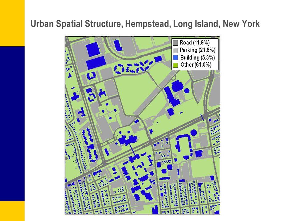 Urban Spatial Structure, Hempstead, Long Island, New York