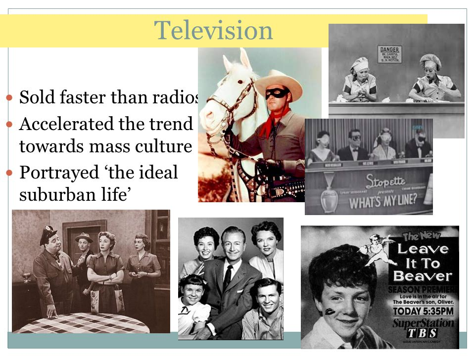 Television Sold faster than radios