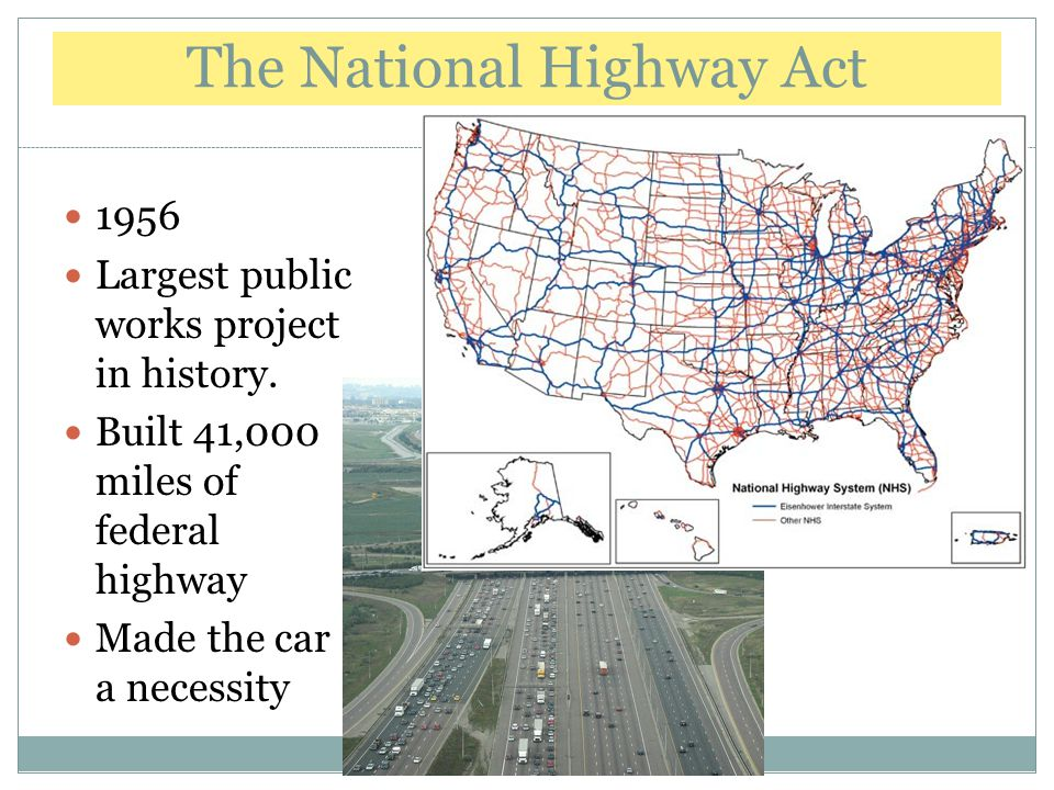 The National Highway Act
