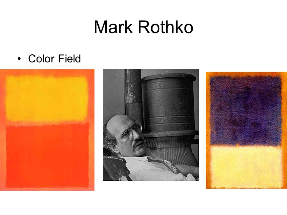 Mark Rothko Color Field