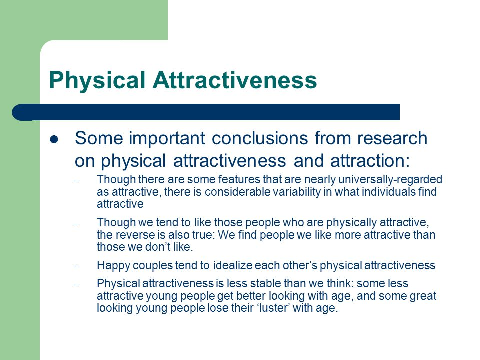 physical attractiveness race and essay evaluation Start studying social psych final exam learn evaluation apprehension is _____ and the probability of social physical attractiveness stereotype.