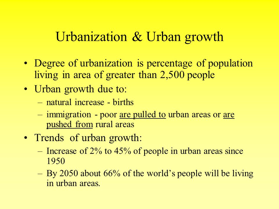 urbanization city and urban areas Urbanization in china increased in speed following the  594% of the total population lived in urban areas,  urbanization by country category:city.