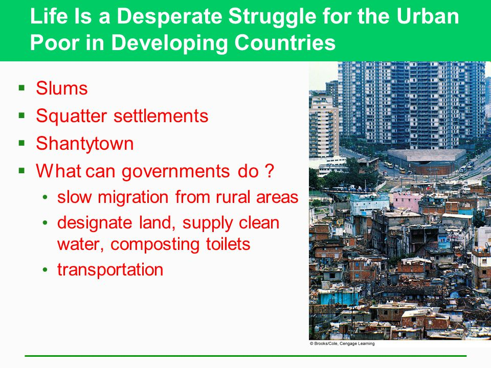 Life Is a Desperate Struggle for the Urban Poor in Developing Countries