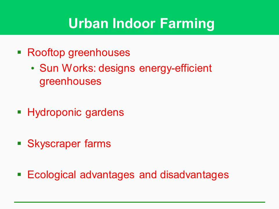 Urban Indoor Farming Rooftop greenhouses
