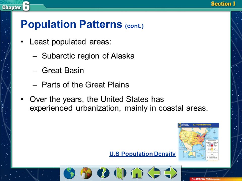 Population Patterns (cont.)