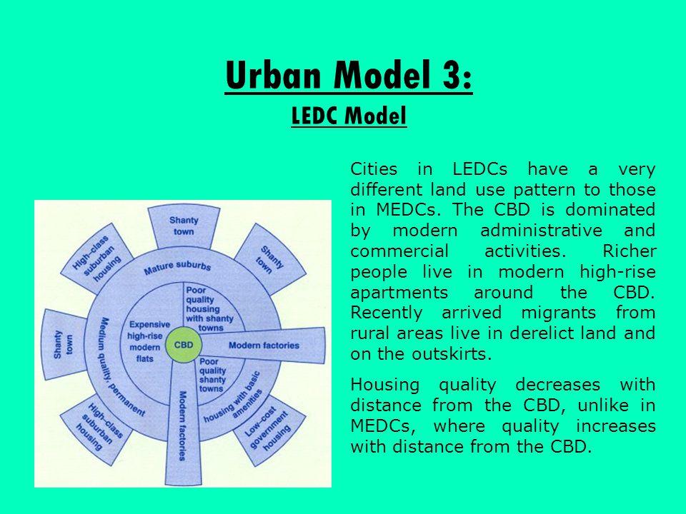 Urban Model 3: LEDC Model