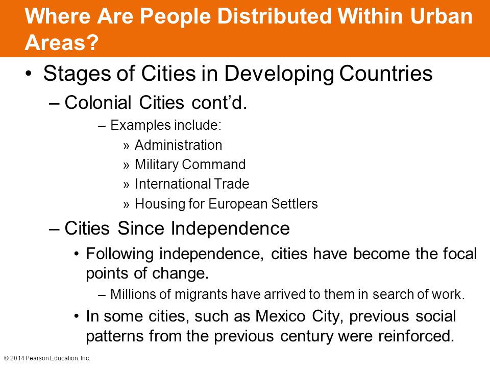 Where Are People Distributed Within Urban Areas