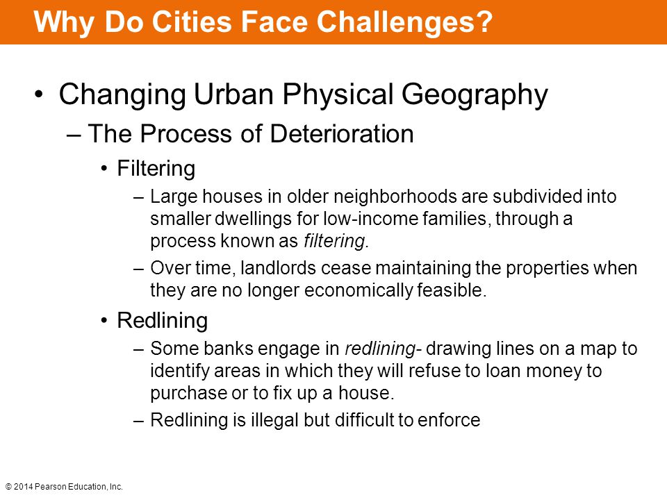 Why Do Cities Face Challenges