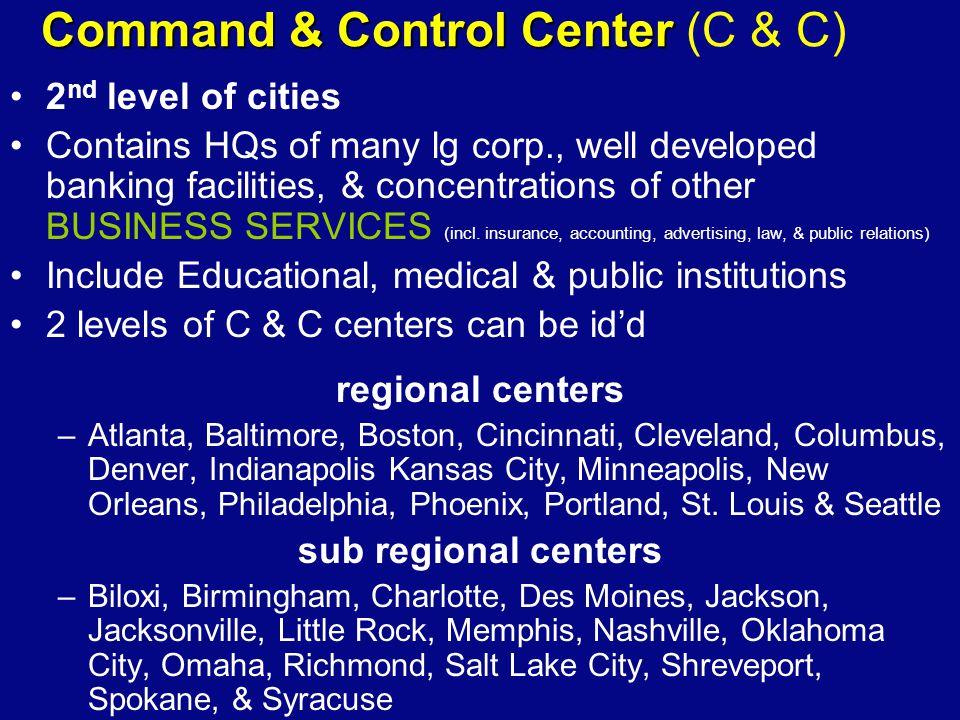 Command & Control Center (C & C)