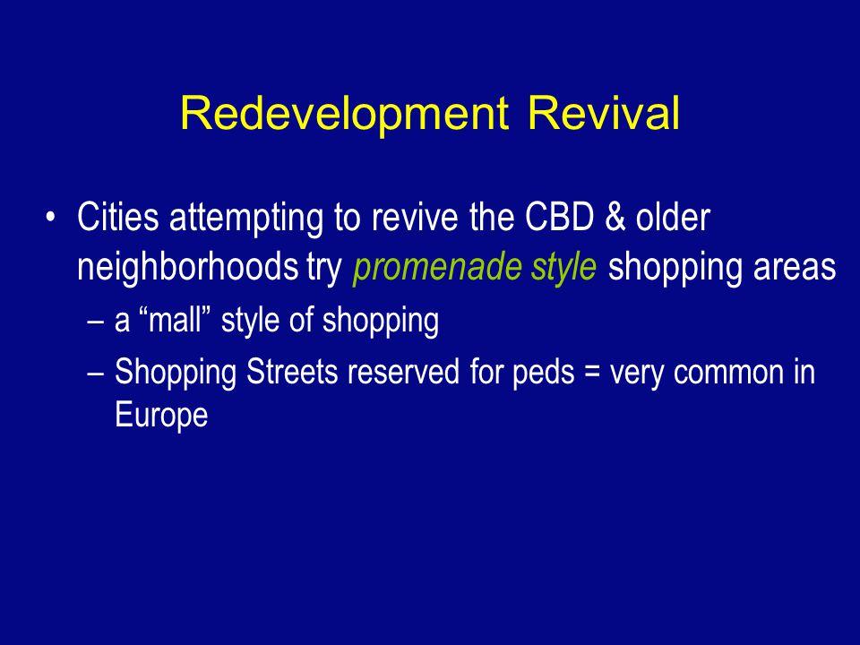 Redevelopment Revival