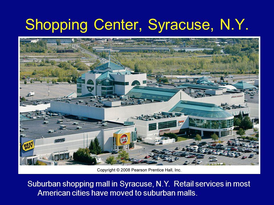 Shopping Center, Syracuse, N.Y.