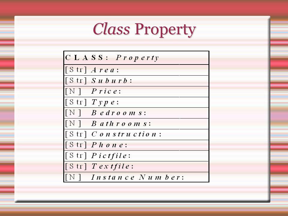 Class Property