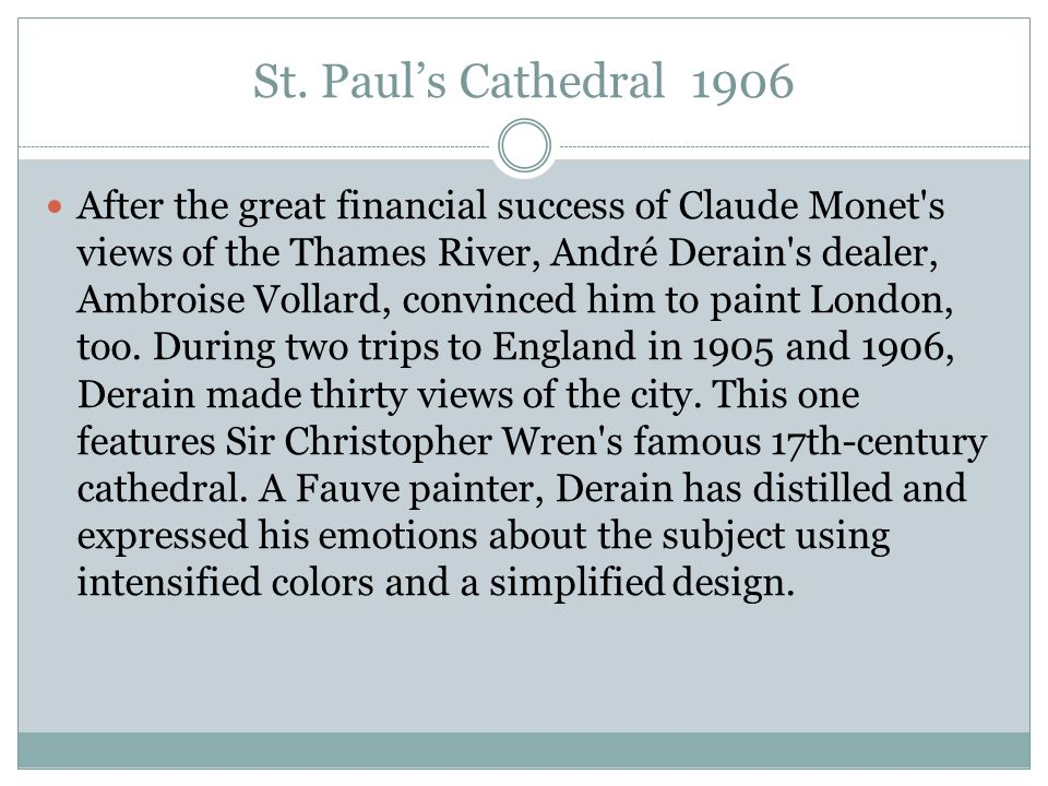 St. Paul's Cathedral 1906