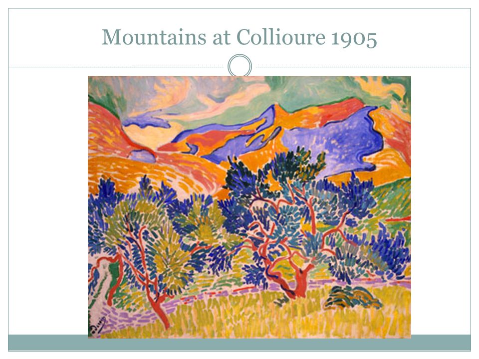 Mountains at Collioure 1905
