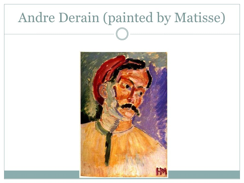 Andre Derain (painted by Matisse)