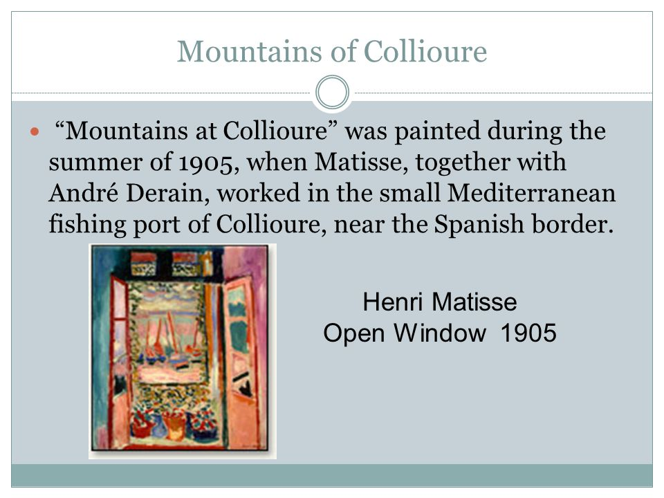 Mountains of Collioure