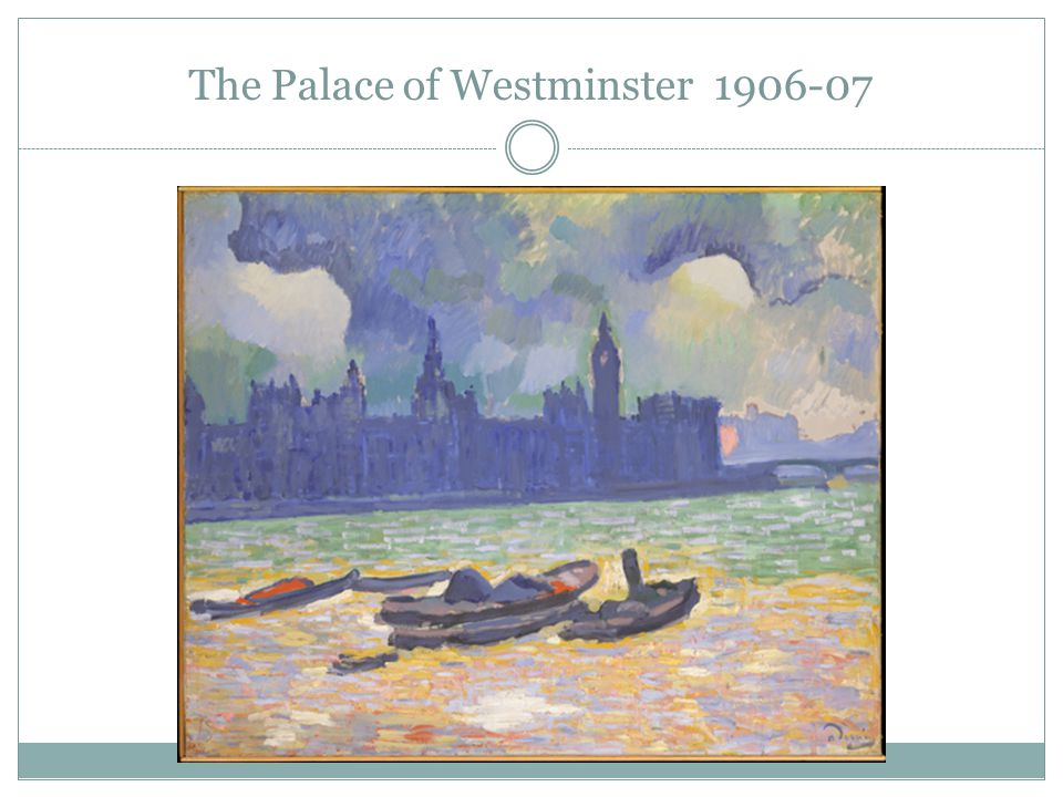 The Palace of Westminster 1906-07