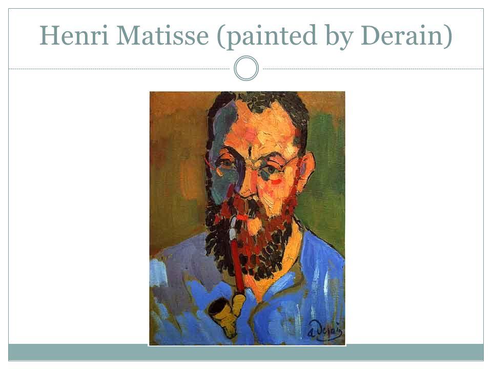 Henri Matisse (painted by Derain)